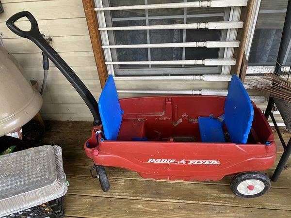 2-seater Radio Flyer Toy wagon