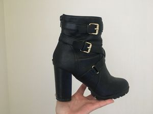 High Heel Black Ankle Boot: size 7.5 for Sale in Denver, CO