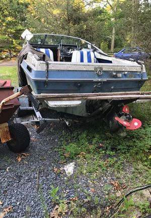 19 ft SEARAY CUDDY W/ trailer/motor and outdrive for Sale for sale  Jackson, NJ