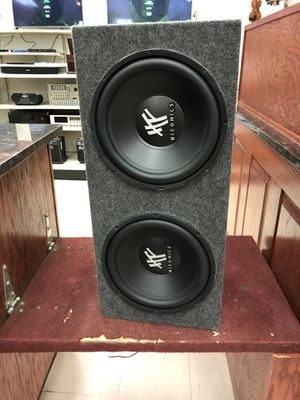"12"" hifonics subwoofers for Sale in Austin, TX"