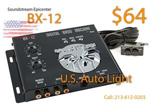 Soundstream Epicenter BX-12 - one year warranty for Sale in Los Angeles, CA