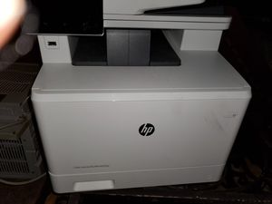 Hp printer used but works for Sale in Ridgefield Park, NJ