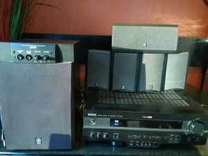 Yamaha HTR-5450 A/V Receiver with Dolby Digital and DTS Black for Sale in Vacaville, CA