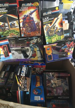 Huge Vintage NIB Toy Collection - GI Joe, MOTU and more for Sale in Newcastle, WA
