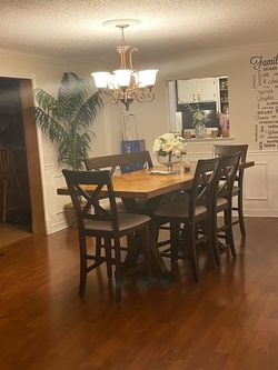 Raymour Flanigan Dining table And China Cabinet for Sale in Sicklerville,  NJ