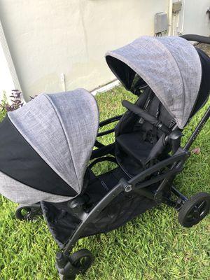 Contours Options Elite Tandem Stroller in Graphite for Sale in Tamarac, FL
