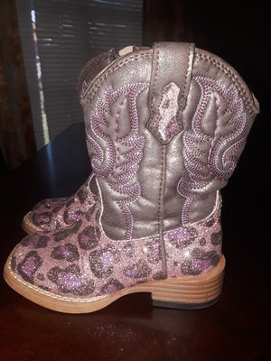 Toddler girl cowboy boots for Sale in Brownsville, TX