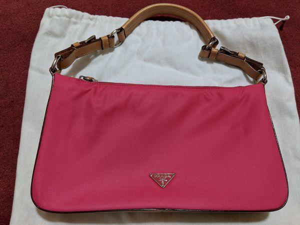 Limited edition Pink Vintage Prada Purse, pristine condition!