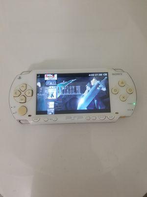 Modded PSP White 1000 w/ over 1000 Games (PSP, PS1, Sega Genesis, N64, Gameboy Color & Advance and Super Nintendo Games) for Sale in Riverside, CA