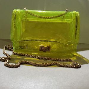 Neon Yellow Forever 21 Bag for Sale in Stone Ridge, VA