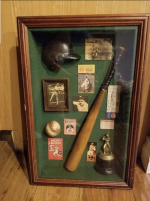Baseball Shadow Box for Sale in Ontario, CA