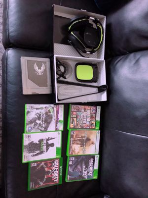 Games for xbox/ headphones/cheat codes for Sale in Tucker, GA