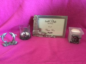 Set of 5 Pewter Nautical Decor for Sale in Camden Wyoming, DE