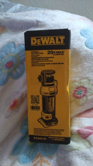 20v MAX lithium ion drywall cut-out tool for Sale in Sacramento, CA