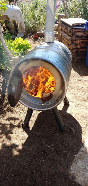 K E G pot belly stove (Miller keg) for Sale in Oceanside, CA