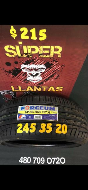 245 35 20 BRAND new set OF tires for Sale in Phoenix, AZ
