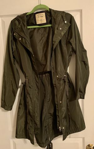 Olive Green size L Jacket for Sale in Plainfield, IL