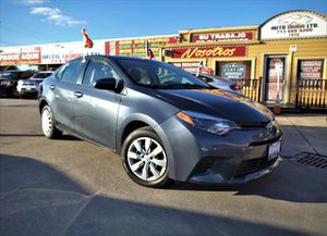 2015 Toyota Corolla for Sale in Houston, TX