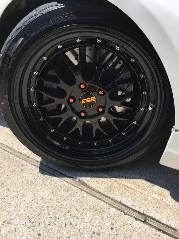 ESR Rims and tires