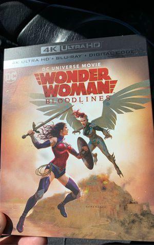 Wonder Woman bloodlines 4K for Sale in Costa Mesa, CA