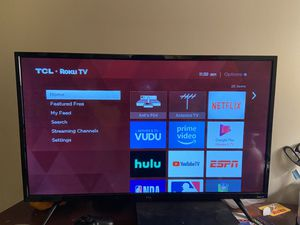 "32"" 3-series Roku LED TV and Play Station 4 Slim Bundle! W/ games! for Sale in Washington, DC"