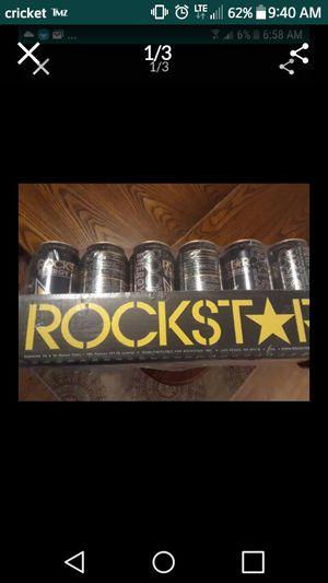 Case of rockstars for Sale in Fresno, CA