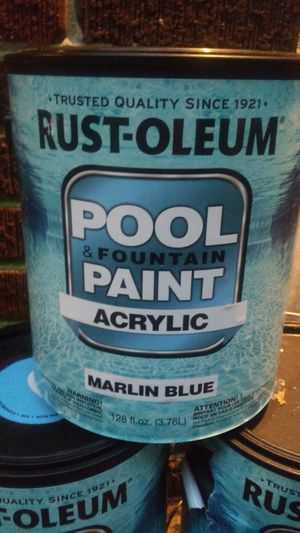 Rust-oleum Acrylic Pool Paint for Sale in Decatur, GA