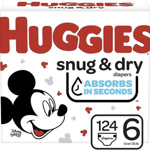 Huggies Snug Dry size 6 diapers-pañales for Sale in Downey, CA