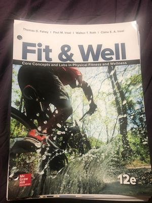 Fit and Well 12th Edition for Sale in Claremont, CA