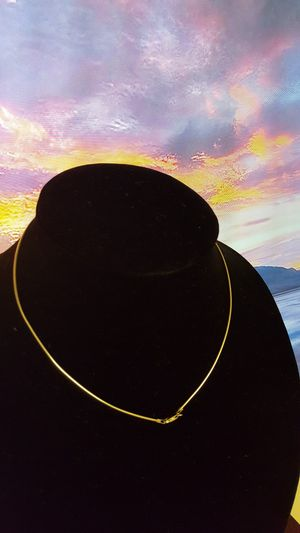 """Choker 925 Sterling ITALY 2.64grs Sz 16""""in for Sale in Covington, KY"""