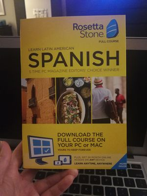 Rosetta Stone Spanish for Sale in Washington, DC