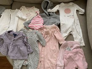Baby gap clothing lot 0-12 months baby girl for Sale in Tarpon Springs, FL