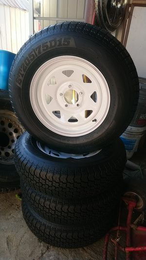 NEW TRAILER TIRES ST205 /75D15 for Sale in Lake Elsinore, CA