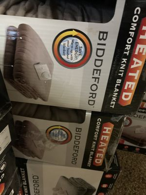 Electric blanket new for Sale in Las Vegas, NV