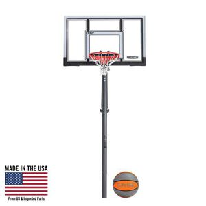 """Lifetime Adjustable In-Ground Basketball Hoop 54"""" Polycarbonate 90962 for Sale in Austin, TX"""