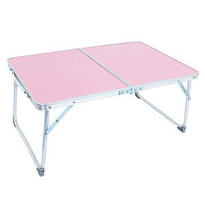 Large W-Shaped Bed Tray Foldable Portable Multifunctional Laptop Desk Lazy Laptop Table Space Saving Design (Silver) for Sale in Larsen, WI