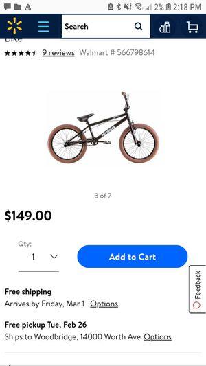 Mongoose Wildcard BMX Bike for Sale in Woodbridge, VA
