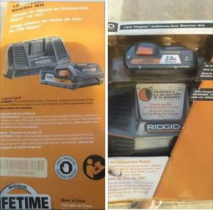 Ridgid Battery for Sale in Sioux City, IA