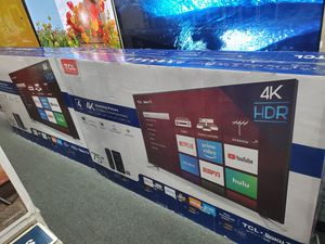 "75S423 75"" TCL UHD 4K SMART HDR ROKU TV for Sale in Rancho Cucamonga, CA"