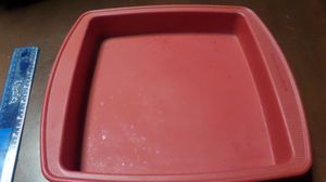 Kitchen Aid Red Silicone Square Baker/Cake Pan for Sale in Lakewood, CO