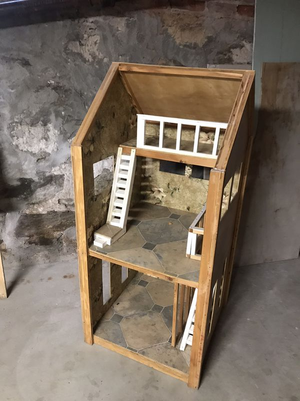 Home made doll house
