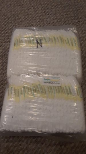 Newborn Diapers/Pampers for Sale in Maitland, FL