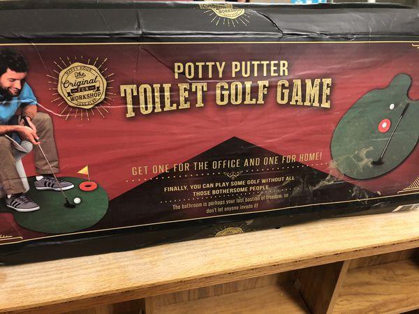 Potty Putter Gag Gift