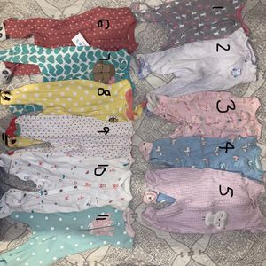 Babygirl Onesies Size 0-3 for Sale in Los Angeles, CA