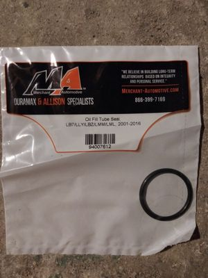 Silverado/gmc Oil fill tube seal for Sale in North Attleborough, MA