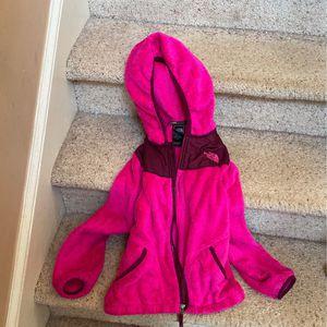 The North Face Girls FLEECE Full Zipper Jacket w/hood for Sale in Lawrenceville, GA