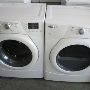 Front Load Whirlpool Duet Washer And Front Load Whirlpool Duet Dryer for Sale in Bedford, TX