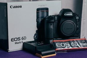 Canon EOS 6D Mark II DSLR Camera (Body Only), Canon BG-E21 Battery Grip for Sale in Anaheim, CA