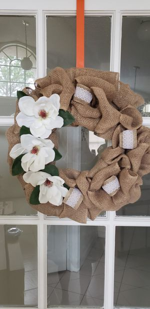 Magnolias wreath for Sale in Orlando, FL
