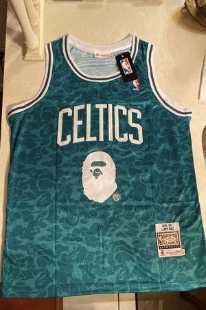 Boston Celtics Larry Bird Bape Jersey for Sale in Orlando, FL